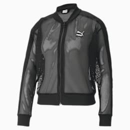 Giacca bomber Classics uomo in tessuto mesh, Puma Black, small