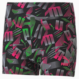 Micro shorts PUMA Sport donna con stampa su tutta la superficie