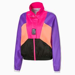 Tailored for Sport OG Retro-træningsjakke til kvinder, Fluo Pink, small