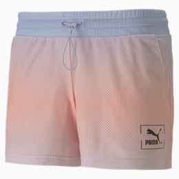 Tie Dye Mesh Women's Shorts