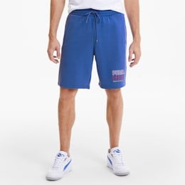 PUMA Sport Knitted Men's Shorts, Dazzling Blue, small