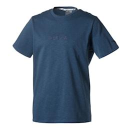 Pull Up Herren Basketball T-Shirt, Dark Denim, small