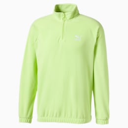 Polar Fleece Half Zip Men's Sweater