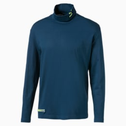 Turtleneck Long Sleeve Men's Tee