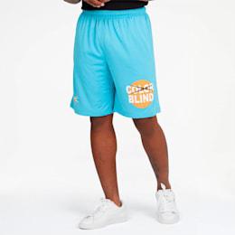 Color Blind Men's Shorts, Bonnie Blue, small