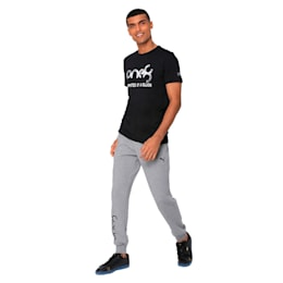 one8 Cricket Graphic tee, Puma Black, small-IND