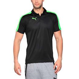IT evoTRG Polo, Puma Black-Green Gecko, small-IND