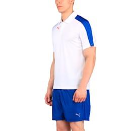 IT evoTRG Polo, White-TRUE BLUE-BrightPlasma, small-IND