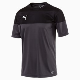 ftblPLAY Men's Shirt, Asphalt-Puma Black, small