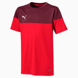 ftblPLAY Kids' Shirt, Puma Red-Burgundy, small-IND