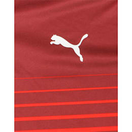 ftblPLAY Graphic Boys' Shirt, Puma Red-Burgundy, small-IND