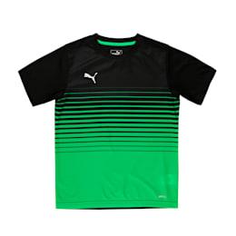 ftblPLAY Graphic Boys' Shirt, Puma Black-ANDEAN TOUCAN, small-IND