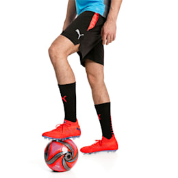 ftblNXT Pro Men's Football Shorts, Puma Black-Red Blast, small-SEA