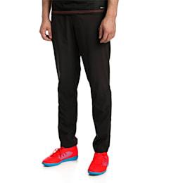 ftblNXT Men's Woven Pants, Puma Black-Red Blast, small-SEA