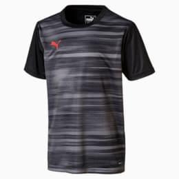 ftblNXT Graphic Boys' Shirt, Puma Black-Nrgy Red, small