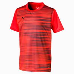T-shirt ftblNXT para rapaz, Nrgy Red-Puma Black, small