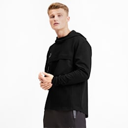 ftblNXT Casual Men's Hoodie, Puma Black-Puma Black, small