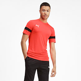 Men's Training Tee, Nrgy Red-Puma Black, small