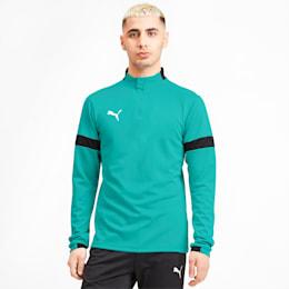 Herren Sweatshirt, Blue Turquoise-Puma Black, small