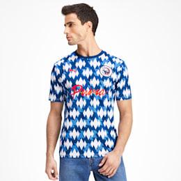 Showdown Men's Football Shirt, Olympian Blue-Puma White, small