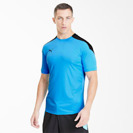 ftblNXT T-shirt voor heren, Luminous Blue-Puma Black, small