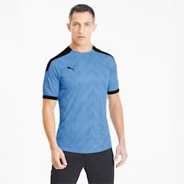 ftblNXT Graphic Men's Football Jersey, Luminous Blue-Puma Black, small-SEA