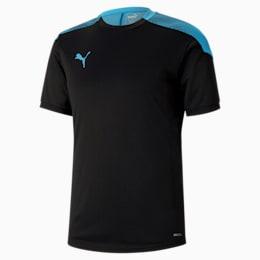 Maillot de foot ftblNXT Pro pour homme, Puma Black-Luminous Blue, small