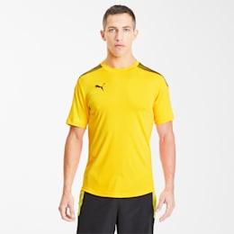 Męska koszulka piłkarska ftblNXT Pro, ULTRA YELLOW-Puma Black, small