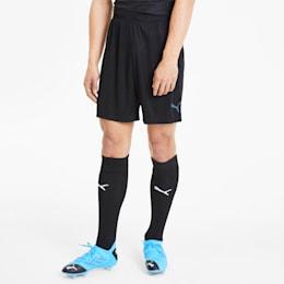 ftblNXT Men's Shorts, Puma Black-Luminous Blue, small