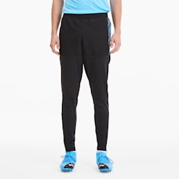 ftblNXT Pro Men's Sweatpants, Puma Black-Luminous Blue, small