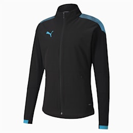 Blouson de foot ftblNXT Pro pour homme, Puma Black-Luminous Blue, small