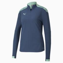 ftblNXT Damen Quarter Zip Fußball Sweatshirt