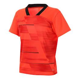 キッズ FTBLNXT ジュニア グラフィック シャツ, Nrgy Red-Puma Black, small-JPN