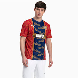 Maillot Bangkok pour homme, Chili Pepper-Puma New Navy, small