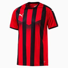 Camiseta de fútbol a rayas para hombre Liga