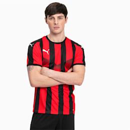 Maglia gara da calcio da uomo a righe Liga, Puma Red-Puma Black, small