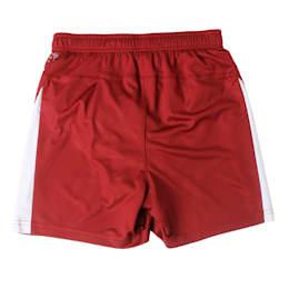 Football Kids' LIGA Shorts, Cordovan-Puma White, small-IND