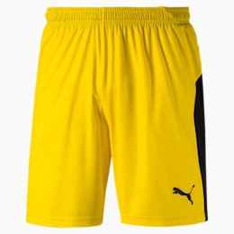Herren LIGA Shorts, Cyber Yellow-Puma Black, small