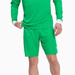 Herren LIGA Shorts, Bright Green-Puma White, small