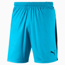 Liga Men's Shorts, AQUARIUS-Puma Black, small