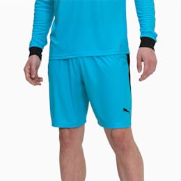 Liga Men's Shorts, AQUARIUS-Puma Black, small