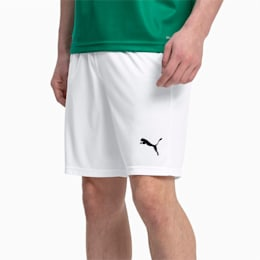 Liga Core Men's Shorts, Puma White-Puma Black, small