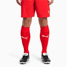 Liga-fodboldstrømper, Puma Red-Puma White, small