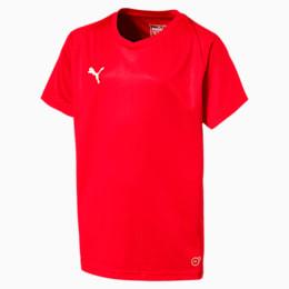 Maglia da calcio Liga Core Junior, Puma Red-Puma White, small