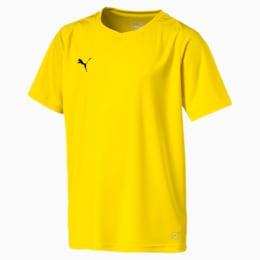 Maglia da calcio Liga Core Junior, Cyber Yellow-Puma Black, small