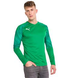 Camisola de guarda-redes de manga comprida CUP para homem, Bright Green-Prism Violet, small