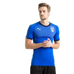 Italia Home Authentic Jersey, Team Power Blue-Peacoat, small
