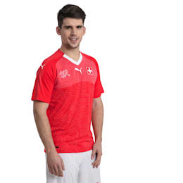 Schweiz Replica Heimtrikot, Puma Red-Puma White, small