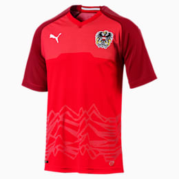 Østrigs replika-hjemmebanetrøje