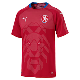 Czech Republic Home Replica Jersey